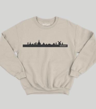Crewneck – Skyline – Sand