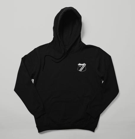 Hoodie – Logo – Black (Kids)