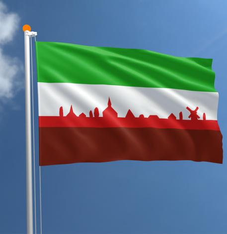 Officiële Vlag Gieterveen 100×150 cm